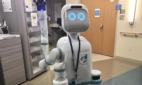 The robot nurse named Moxi